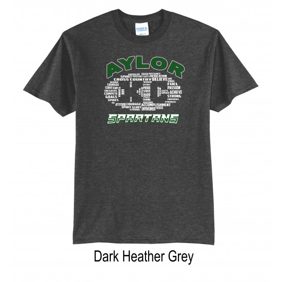 Adult T-Shirt with Last Name