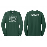 Adult Long Sleeve T-Shirt with Last Name