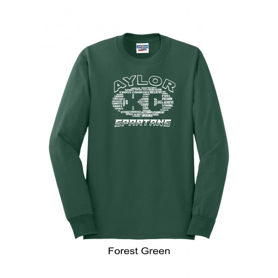 Youth Long Sleeve T-Shirt with Last Name